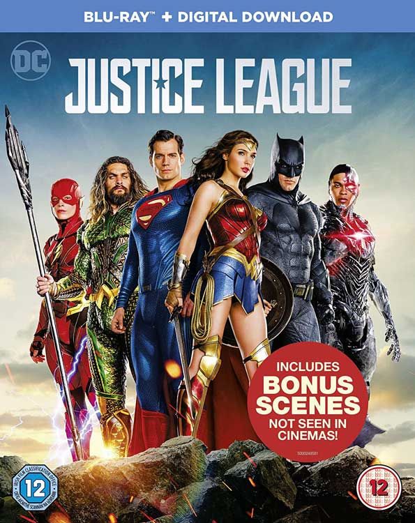 Justice Leagure Blue Ray cover