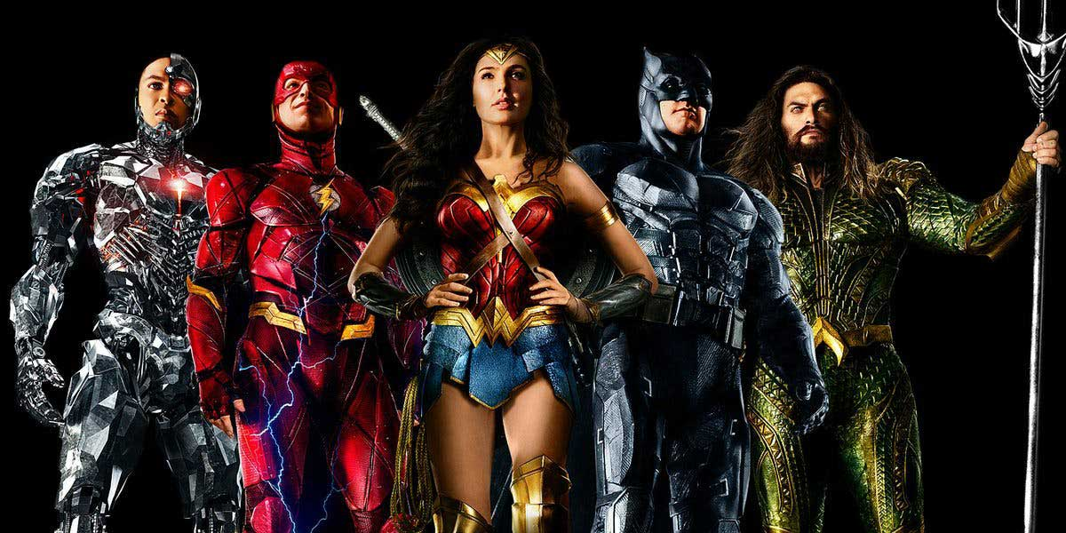 Justice League team pic