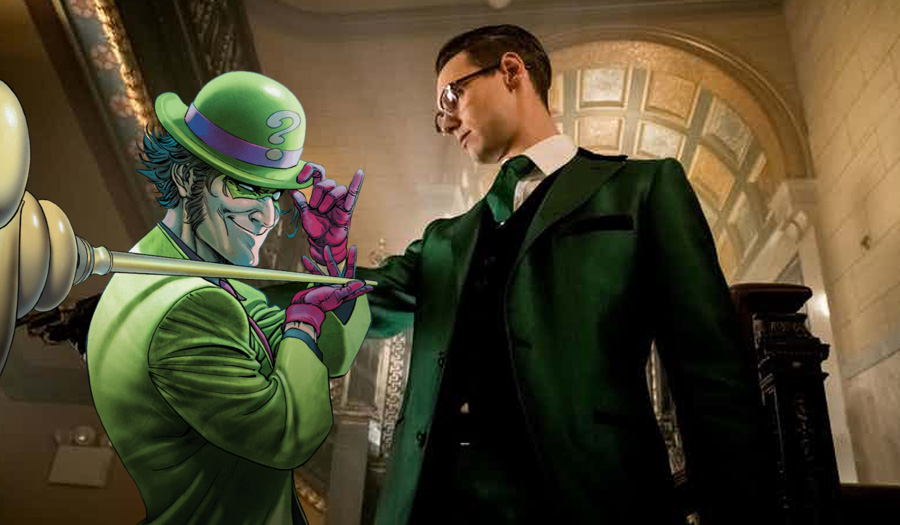 Riddler costume revealed